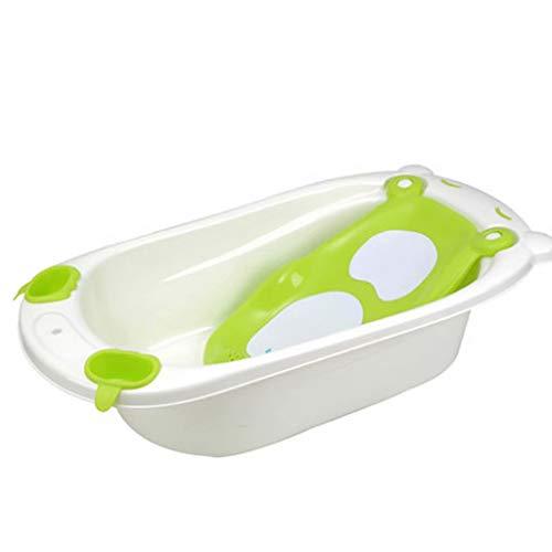 ltyg Baby Badewanne Baby Badewanne Baby Bad Artefakt kann sitzen Rutschfeste Baby Produkte 88,5 * 50 * 50 cm