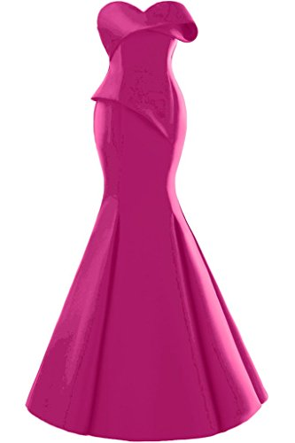 Missdressy - Robe - Sirène - Femme Fuchsia