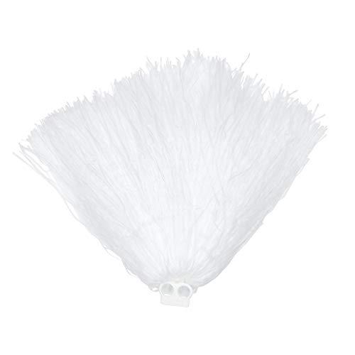 Cheerleader Pom Pom (White) (accesorio de disfraz)