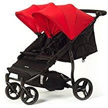 Baby Monsters Silla Gemelar Easy Twin Color Rojo + Textil Adicionalde Regalo en Otro Color
