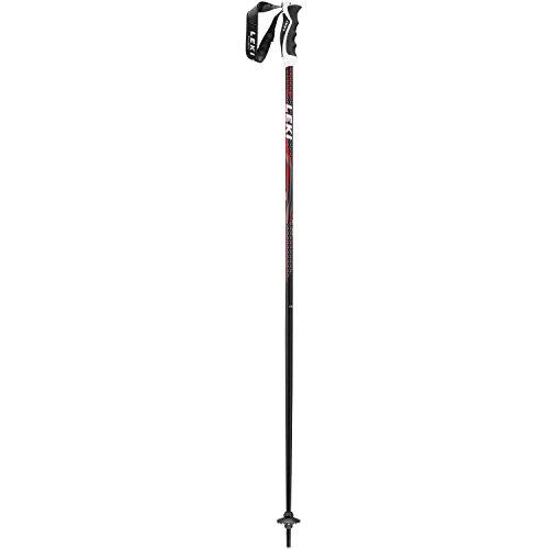 LEKI Alpex Ultimate Skistöcke, Schwarz/Anthrazit/Weiß/Rot, 120 cm