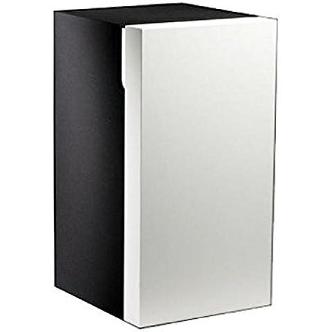 KEUCO US Edition 300 30332, abatible con tope para la colada, blanco/chapa de roble