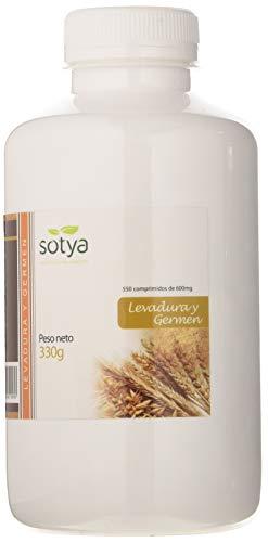 Sotya Levadura de Cerveza y Germen, Complemento Alimenticio, 550 Comprimidos, 330 g