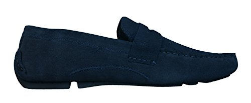 Red Tape Cranfield hommes en daim Loafers / Chaussures Navy