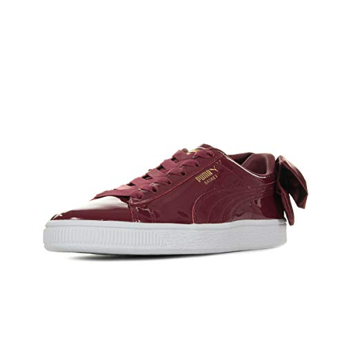 Puma Basket Bow Patent WN's Tibetan Red 36811804, Turnschuhe - 38 EU Red Patent Bow