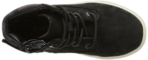 Timberland Groveton 6in, Unisex-Kinder Hohe Sneakers Schwarz (Black)