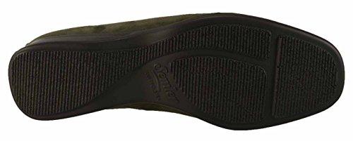 Semler Ria R1635-002 - Scarpe Comode / Inserto Morbido Scarpe Da Donna Comoda Ballerina / Pantofola, Grigio, Altezza Tacco: 30 Mm Antracite