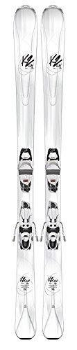 K2 Skis Damen Luv 75 Erp 10 Compact Quikclik Set Ski mit Bindung, Mehrfarbig, 156 cm