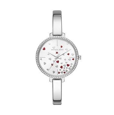 Michael Kors Reloj Analógico para Mujer de Cuarzo con Correa en Acero Inoxidable MK3976