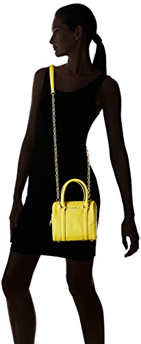 Nannini B10126, Borsa a Mano Donna, 18 x 16 x 10 cm (W x H x L) Giallo (Sole)
