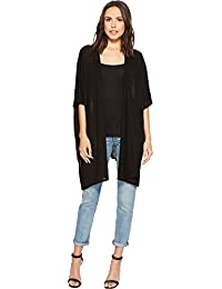 Steve Madden Womens Solid Fine Knit Topper With Slit