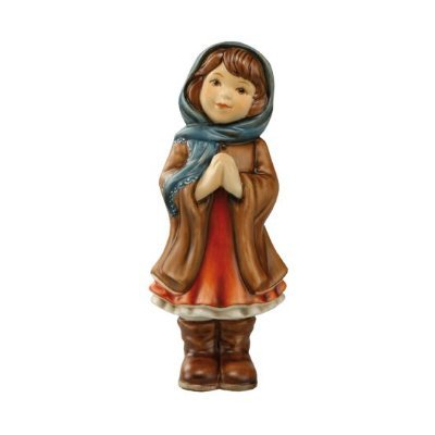 Goebel 66871302 'ANNA: as Maria Figure, ceramic, multicolor, 5,5 x 5 x 15 cm
