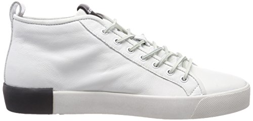Blackstone Herren Pm42 Hohe Sneaker Weiß (White)