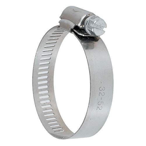 Collier bande perforée W4 inox - 8 mm - Serrage 18 - 28 mm - Boîte de 25 pièces - Ace