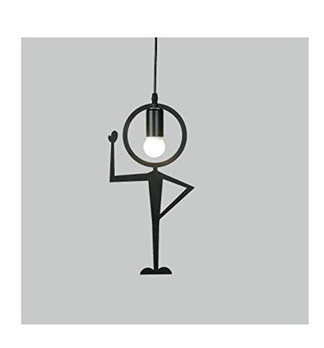 Lampen Pendelleuchte Deckenlampe Hängelampe Kronleuchter Moderne Kreative Stil Metall Mann