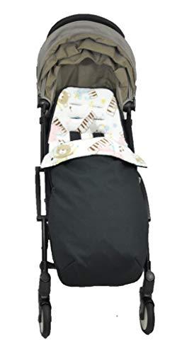 Haim Baby Sacco per Passeggini Adatti Babyzone Yoyo, Baby Monster, Plum, Tuc Tuc, Bogaboo, Donkey e altri, impermeabile, Altre coperture contro il vento, copertura per i piedi. 2 in 1