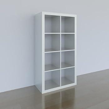 Regalsystem Ikea ikea expedit regal 8 fächer weiß 149x79x39cm amazon de küche