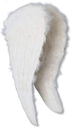 Horror-Shop Engelsflügel Weiß 45 x 50 cm (Himmel Und Hölle Kostüm)
