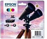 Epson C13T02W64010 Encre (4) Approprié pour XP5100 Multicolore 1x 9, 2ml Noir + 3x 6, 4ml Couleur
