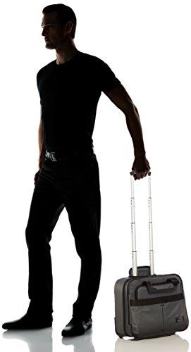 Samsonite Cityvibe Rolling Tote Tasche für Notebook bis 40,6 cm (16 Zoll) jet schwarz ASH GREY