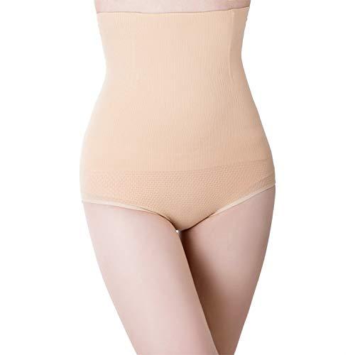 IMUZU Unterhose, Nahtlose Kontrolle, für Damen, schlankes Design, hohe Taille Gr. Medium/Large, Zk011 Skin Color