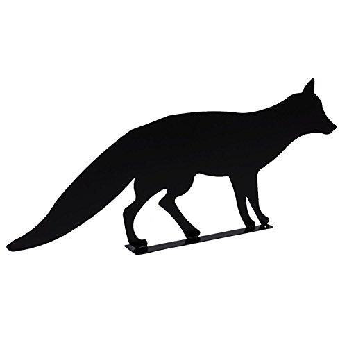 Gato decorativo para jardín Figura placa para altura 29cm, color negro