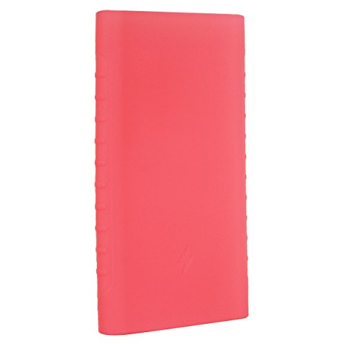 Heartly Soft Silicone Pouch Protector Cover Case For 10000mAh Mi Power Bank 2 (Version 2) - Cute Pink  available at amazon for Rs.299