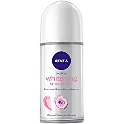 Nivea Whitening Smooth Skin Roll On, 50ml