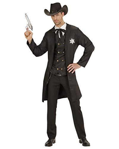 West Erwachsene Für Wild Sheriff Kostüm - Cowboy Sheriff Männerkostüm | M/L; XL M/L