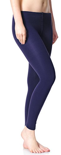 Merry Style Damen Thermo Leggings mit Innenfleece 24550 Extra Warm Dunkelblau (24551)