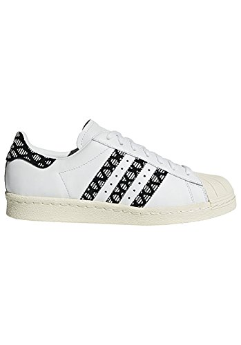 adidas Superstar 80S W, Scarpe da Fitness Donna, Bianco Ftwbla/Casbla 000, 36 EU