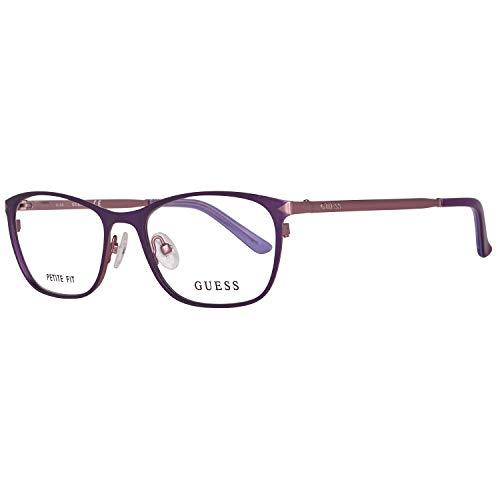 Guess Damen Brille Gu2587 50082 Brillengestelle, Violett, 50
