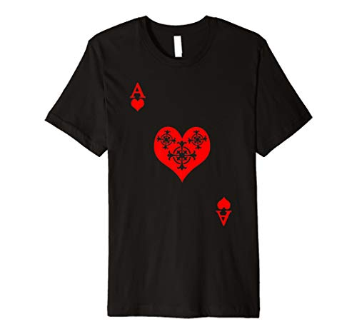 ACE OF HEARTS Shirt - Spielkarten Shirt