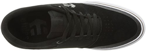 Etnies Herren Marana Vulc Low-Top Schwarz (Black/White/Gum)