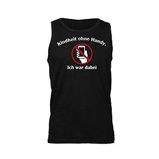 Kindheit Ohne Handy. Ich War Dabei. Men's Tank Top Shirt Small