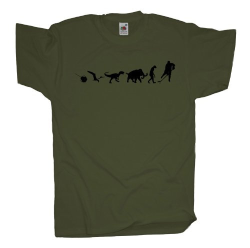 Ma2ca - 500 Mio Years - Hockey Icehockey T-Shirt Olive