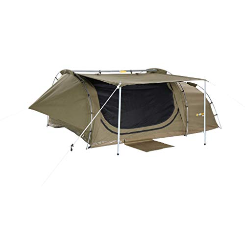 Pioneer Discovery Double Swag - Voll freistehendes Doppel-Swag mit 6 cm hoher, offenzelliger Schaumstoffmatratze. 400 g/m² SatProof 600+ Ripstop-Leinwand. Swag: 145 x 215 cm 13 kg CSW-PIDD-F -