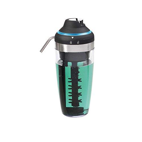Bar Licuadora con iluminación LED cambio de color espumador de leche taza batidora Mix Depósito 23,8cm (batidora, coctelera, cóctel de leche Licuadora, Drink Licuadora, espumador, espuma de leche)