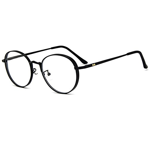 z-p-vintage-style-for-unisex-new-style-retro-round-metal-frame-uv400-clear-lens-glasses