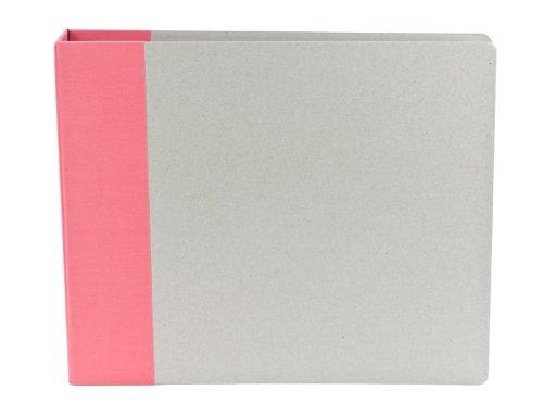 Pink Modern D-Ring Scrapbook Album 12