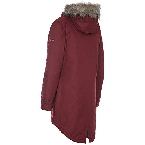 31wSsMUjddL. SS500  - Trespass Clea Womens Padded Waterproof Coat with Hood