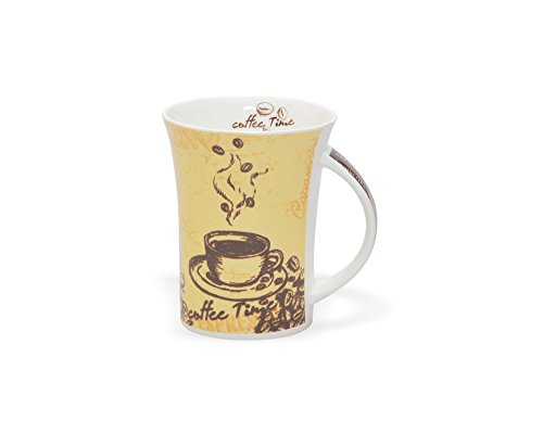 Clay Craft Mudy 358 Bone China Milk Mug, 270ml/5.7cm, Multicolour