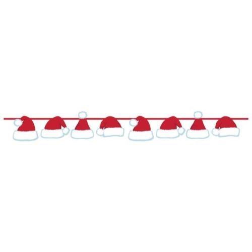 Creative Party Weihnachten Santa Hüte Girlande Band Banner Dekoration