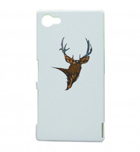 Smartphone Case testa di cervo corna di alce foresta montagne Wilderness Caccia corno con bretelle per Apple Iphone 4/4S, 5/5S, 5C, 6/6S, 7& Samsung Galaxy S4, S5, S6, S6Edge, S7, S