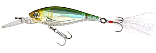 Yo-Zuri 3dB Shad Suspending Köder, Pearl Chartreuse Lime, 2-3/4-Inch (Shad Chartreuse Pearl)