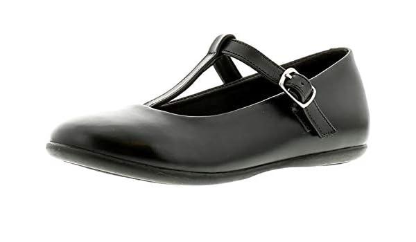 CLARA chaussure de service en cuir pour femme Noir T. 35