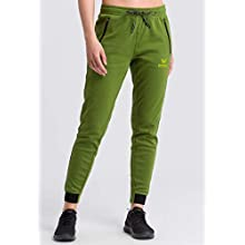 Erima Women's Essential Sweatpants, Twist Of Lime/Lime Pop, 38