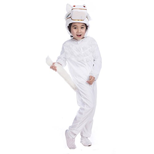 isex Abend Kleider Pyjamas Pferd Kostüm Cosplay Alltagskleidung Siamesische Kleidung 120 (Charakter-ideen Für Halloween)