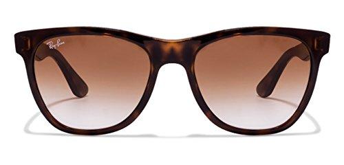 RAY-BAN RB4184 710/51 Size:54 Tortoise Brown Gradient Wayfarer Women