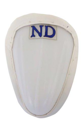 ND Cricket Jungen bauchregion Schutz Spieler Abdoguard Box, weiß